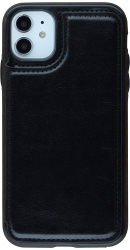 Coque iPhone 11 - Wallet Premium Cards noir