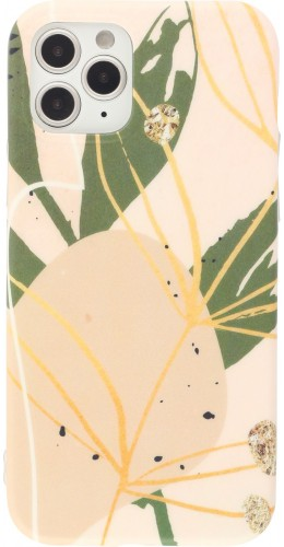 Coque iPhone 11 Pro Max - Abstract Art rose