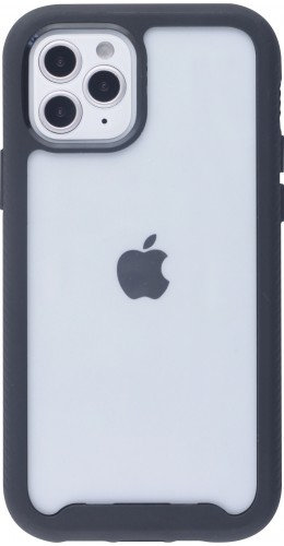 Coque iPhone 12 mini - Bumper 360 Stripe noir