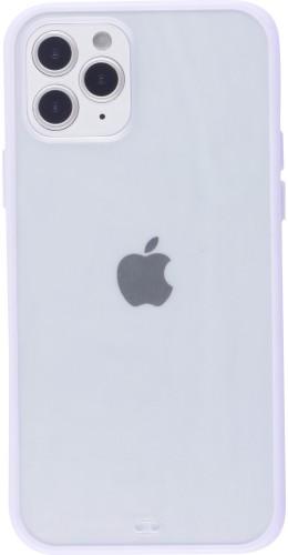 Coque iPhone 12 / 12 Pro - Bumper Blur violet