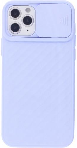 Coque iPhone 12 / 12 Pro - Caméra Clapet violet