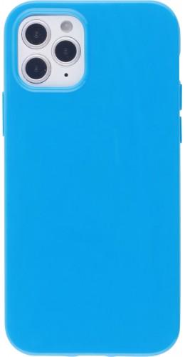 Coque iPhone 12 / 12 Pro - Gel bleu foncé