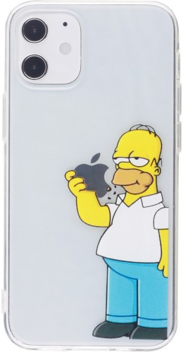 Coque iPhone 12 mini - Homer Simpson