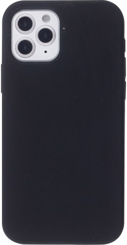 Coque iPhone 12 / 12 Pro - Soft Touch noir
