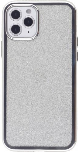 Coque iPhone 12 Pro Max - Bumper Diamond strass argent