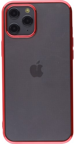 Coque iPhone 12 Pro Max - Electroplate rouge