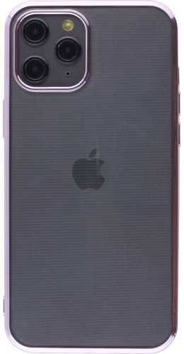 Coque iPhone 12 Pro Max - Electroplate violet