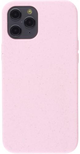 Coque iPhone 12 Pro Max - Silicone Mat rose pâle