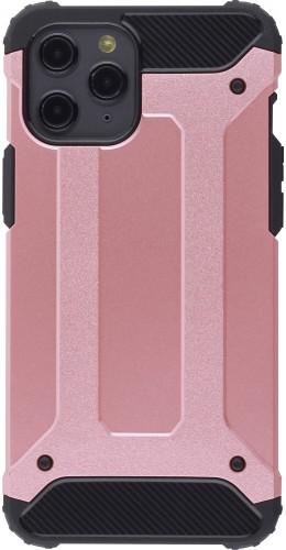 Coque iPhone 12 Pro Max - Hybrid carbon rose
