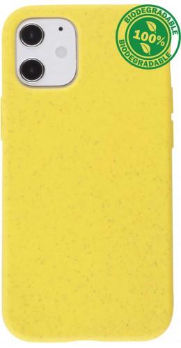 Coque iPhone 12 mini - Bio Eco-Friendly jaune