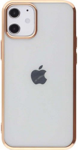 Coque iPhone 12 mini - Electroplate or