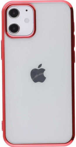Coque iPhone 12 mini - Electroplate rouge