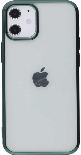 Coque iPhone 12 mini - Electroplate vert