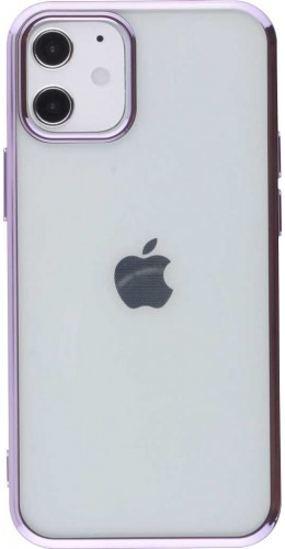 Coque iPhone 12 mini - Electroplate violet