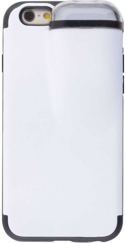 Coque iPhone 6 Plus / 6s Plus - 2-In-1 AirPods blanc