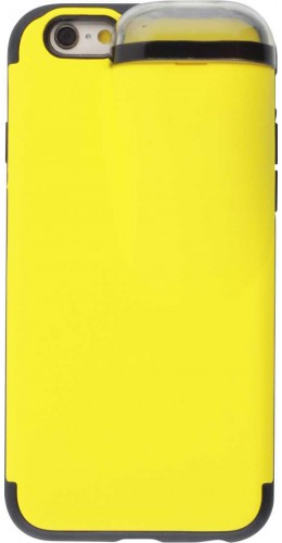 Coque iPhone 6/6s - 2-In-1 AirPods jaune