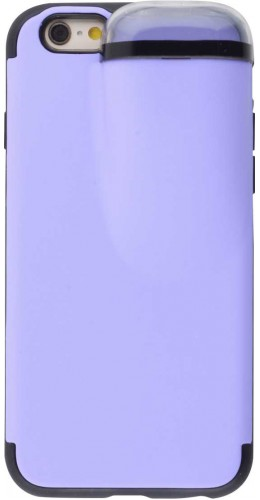 Coque iPhone 6/6s - 2-In-1 AirPods violet