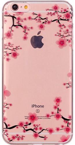 Coque Samsung Galaxy S5 - Gel petites fleurs