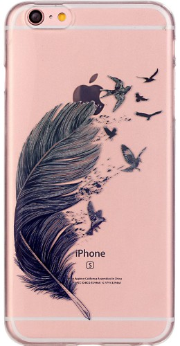 Coque Samsung Galaxy A5 (2016) - Gel plume oiseaux