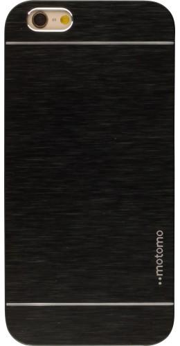 Coque Samsung Galaxy S4 - Motomo aluminium noir