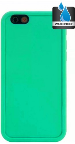 Coque iPhone XR - Water Case vert