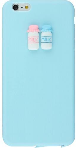 Coque iPhone 6 Plus / 6s Plus - 3D Milk bleu