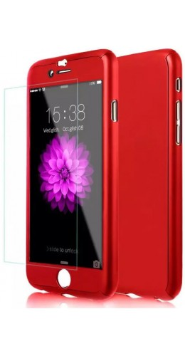 Coque iPhone 11 Pro - 360° Full Body rouge