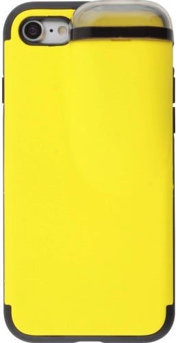 Coque iPhone 7 / 8 - 2-In-1 AirPods jaune