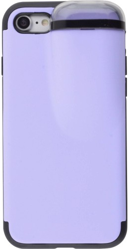 Coque iPhone 7 / 8 / SE (2020) - 2-In-1 AirPods violet