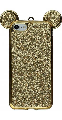 Coque iPhone 7 / 8 - Bling Mouse or