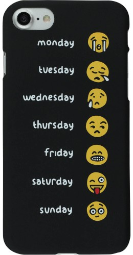 Coque iPhone 7 / 8 - Emoji Week