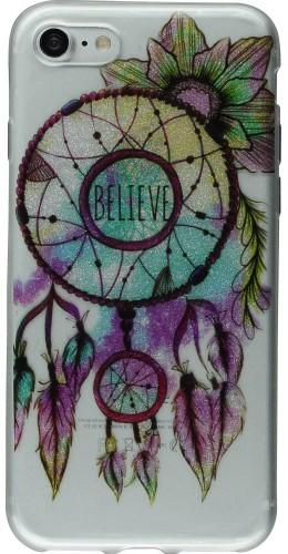 Coque iPhone 7 / 8 - Gel Shine dreamcatcher believe