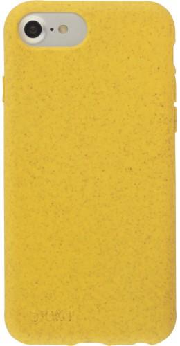 Coque iPhone 6/6s / 7 / 8 / SE (2020) - Bioka biodégradable jaune