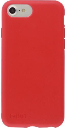 Coque iPhone 6/6s / 7 / 8 / SE (2020) - Bioka biodégradable rouge