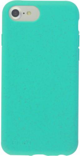 Coque iPhone 6/6s / 7 / 8 / SE (2020) - Bioka biodégradable turquoise