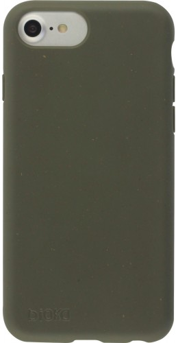 Coque iPhone 6/6s / 7 / 8 / SE (2020) - Bioka biodégradable vert foncé
