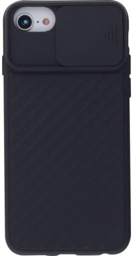 Coque iPhone 7 Plus / 8 Plus - Caméra Clapet noir