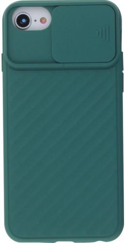 Coque iPhone 6/6s - Caméra Clapet vert foncé