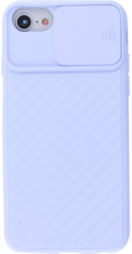 Coque iPhone 6/6s - Caméra Clapet violet