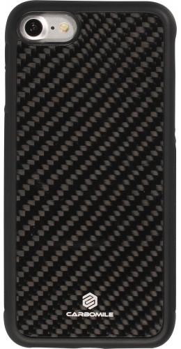 Coque iPhone 7 / 8 / SE (2020) - Carbomile fibre de carbone