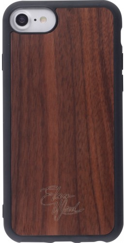 Coque iPhone 6/6s / 7 / 8 / SE (2020) - Eleven Wood Walnut