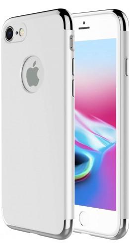 Coque iPhone 7 Plus / 8 Plus - Frame gold argent