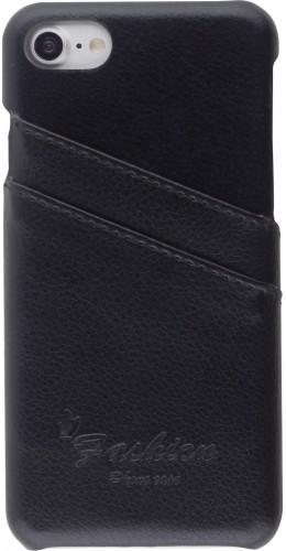 Coque iPhone 7 / 8 / SE (2020) - Poches en cuir Fashion
