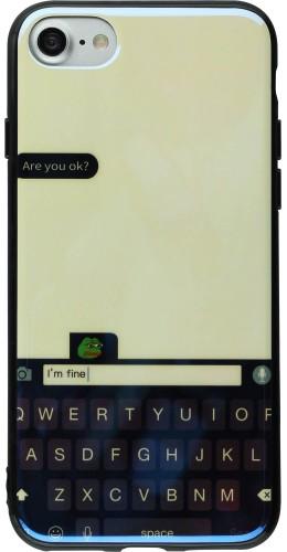 Coque iPhone 7 / 8 - Shine Keybord blanc