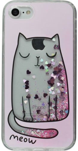Coque iPhone 7 / 8 - Water Stars meow