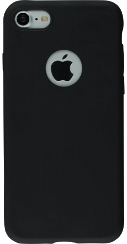 Coque iPhone XR - Silicone Mat noir