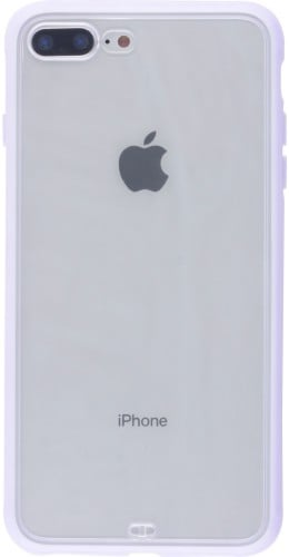Coque iPhone 7 Plus / 8 Plus - Bumper Blur violet