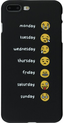 Coque iPhone 7 Plus / 8 Plus - Emoji Week
