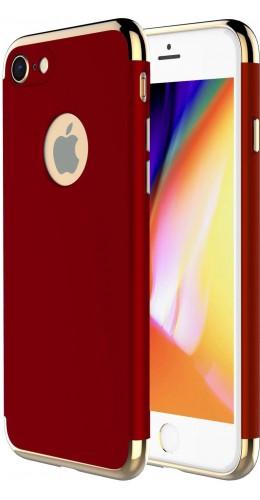 Coque iPhone 7 Plus / 8 Plus - Frame gold rouge