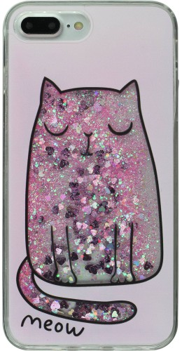 Coque iPhone 7 Plus / 8 Plus - Water Stars meow
